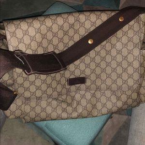 Gucci Diaper/Travel Bag Authentic